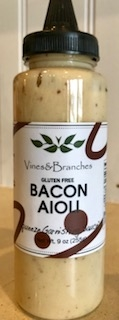 BACON AIOLI Squeeze Bottle
