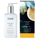 ODE (formerly 80 Acres) CITRUS ORO HAND & BODY LOTION 10 FL. OZ.