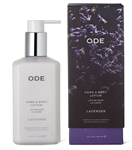 ODE (formerly 80 Acres)  Lavender Lotion Pump Box