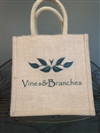 Vines & Branches Jute Bags
